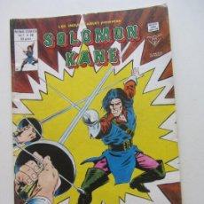 Cómics: LOS INSUPERABLES Vº 1 Nº 36 SOLOMON KANE - 1980 MUNDI-COMICS VERTICE BUEN ESTADO ARX39 LV. Lote 289838473