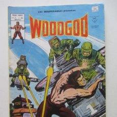 Cómics: LOS INSUPERABLES Vº 1 Nº 35 - WOODGOD 1980 MUNDI-COMICS VERTICE BUEN ESTADO ARX39 LV. Lote 289838613