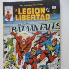 Cómics: LOS INSUPERABLES Vº 1 Nº 34. LA LEGION DE LA LIBERTAD 1980 MUNDI-COMICS VERTICE BUEN ESTADO ARX39 LV. Lote 289838698