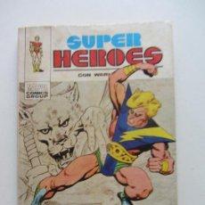 Cómics: SUPER HEROES Nº 1 CON WARLOCK. V 1 V1 EL DIA DEL PROFETA 1973 VERTICE TACO ARX42A LV. Lote 289879573