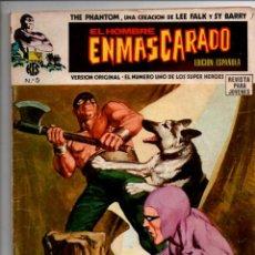 Cómics: EL HOMBRE ENMASCARADO. Nº 5. EDICIONES VERTICE 1974. THE PHANTOM, LEE FALK / SY BARRY. Lote 290085158