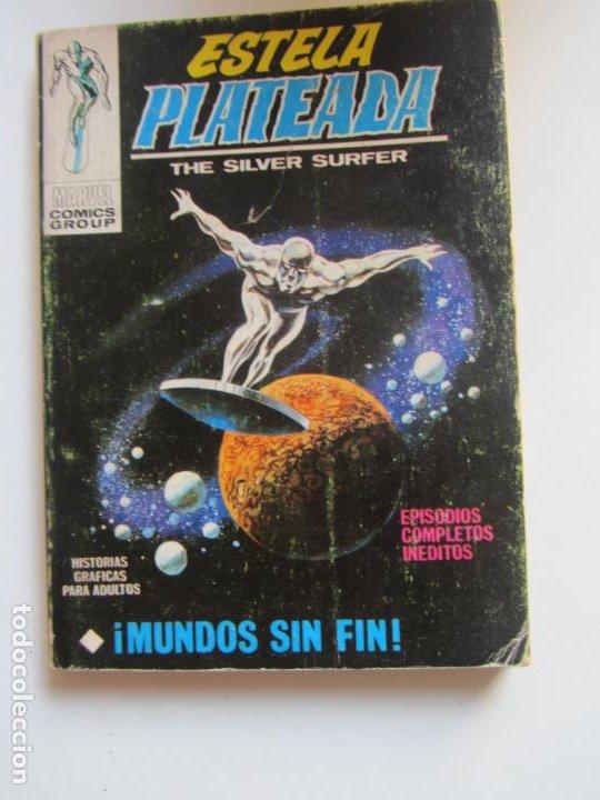 ESTELA PLATEADA VOL I Nº 6 ¡ MUNDOS SIN FIN ! VERTICE TACO ARX42A LV (Tebeos y Comics - Vértice - V.1)