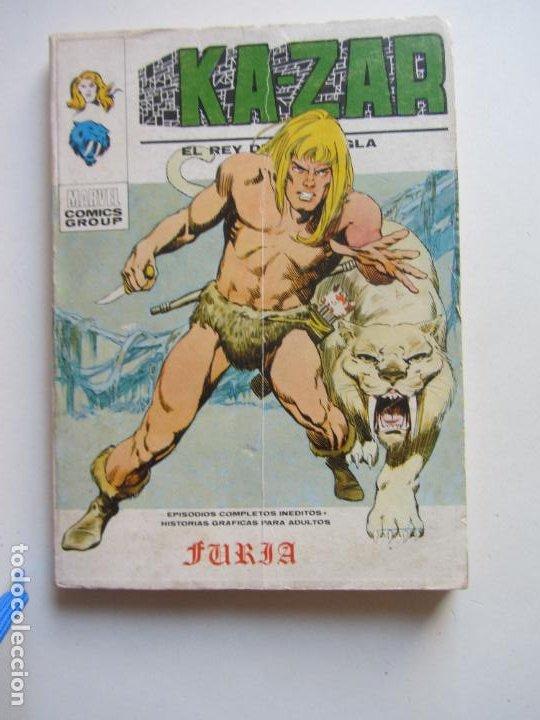 KA-ZAR VOL I Nº 1. FURIA VERTICE TACO C24X3 LV (Tebeos y Comics - Vértice - V.1)