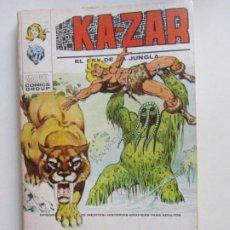 Cómics: KA-ZAR VOL I EL REY DE LA JUNGLA N° 4 LA MARCA DEL HOMBRE COSA VERTICE TACO C24X3 LV. Lote 290139153