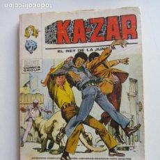 Cómics: KA-ZAR VOL I EL REY DE LA JUNGLA N° 4 VERTICE TACO C24X3 LV. Lote 290139248