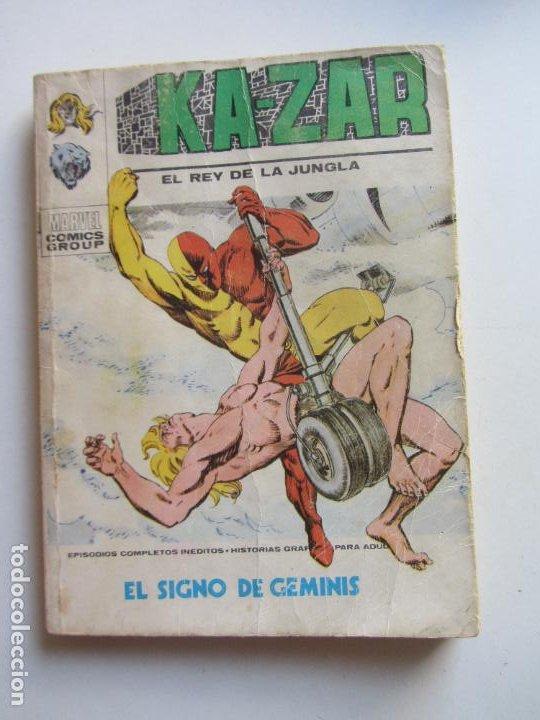 KA-ZAR VOL I EL REY DE LA JUNGLA N° 6 EL SIGNO DE GEMINIS VERTICE TACO C24X3 LV (Tebeos y Comics - Vértice - V.1)