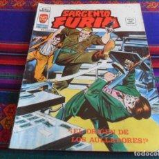 Cómics: VÉRTICE VOL. 2 SARGENTO FURIA Nº 23 EL ORIGEN DE LOS AULLADORES. 1976. 35 PTS. BUEN ESTADO.. Lote 290219558