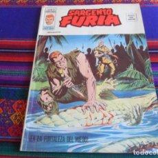 Cómics: VÉRTICE VOL. 2 SARGENTO FURIA Nº 28 EN LA FORTALEZA DEL MIEDO. 1977. 35 PTS.. Lote 290220528