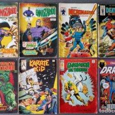 Cómics: LOTE COMICS EL HOMBRE ENMASCARADO MICRONAUTAS DEATHLOK MOTORISTA FANTASMA KARATE KID. Lote 290810443
