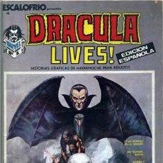 Cómics: ESCALOFRÍO-VÉRTICE- Nº 4 -DRACULA LIVES!-1974-RUSS HEATH-GENE COLAN-BUENO-MUY DIFÍCIL-LEA-5647. Lote 291982208