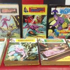 Cómics: EL HOMBRE ENMASCARADO, COMPLETA, 56 TEBEOS, EDICIONES VERTICE, 1973-79. Lote 292540248