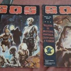 Cómics: 2 COMICS - SOS - S.O.S. - (1981 - 1982). Lote 292598878