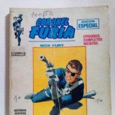 Cómics: 1 TEBEO MARVEL COMIC GROUP - CORONEL FURIA-EDICIONES VERTICE 1970. Lote 293276393