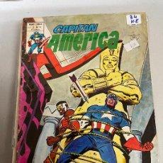 Cómics: VERTICE CAPITAN AMERICA NUMERO 34 NORMAL ESTADO. Lote 293488143