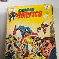 Cómics: VERTICE CAPITAN AMERICA NUMERO 37 NORMAL ESTADO. Lote 293488223