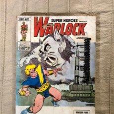 Cómics: SÚPER HÉROES PRESENTA: WARLOCK, NÚMERO 5, AÑO 1974, (VÉRTICE).. Lote 293518083