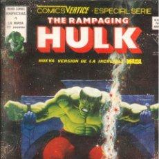 Cómics: THE RAMPAGING HULK ESPECIAL VÉRTICE MARVEL NÚMERO 4. Lote 293634413