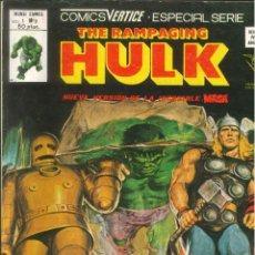 Cómics: THE RAMPAGING HULK VOLUMEN 1 VÉRTICE MARVEL NÚMERO 9. Lote 293635008