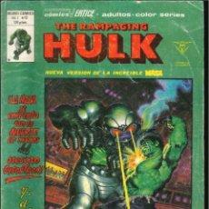 Cómics: THE RAMPAGING HULK VOLUMEN 1 VÉRTICE MARVEL NÚMERO 12. Lote 293635093