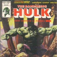 Cómics: THE RAMPAGING HULK VOLUMEN 1 VÉRTICE MARVEL NÚMERO 10. Lote 293636588