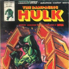 Cómics: THE RAMPAGING HULK VOLUMEN 1 VÉRTICE MARVEL NÚMERO 11. Lote 293636723