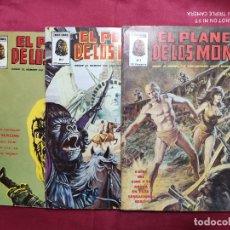 Cómics: EL PLANETA DE LOS MONOS. 3 EJEMPLARES. Nº 1, 2 Y 3. VERTICE 1979. Lote 293962528