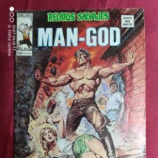 Comics: RELATOS SALVAJES. VOL 1. Nº 53. MAN-GOD. VERTICE. Lote 293964113