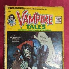 Cómics: ESCALOFRIO. Nº 22. VAMPIRE TALES 6. EDICIONES VÉRTICE.. Lote 293965048