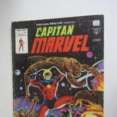 Cómics: HEROES MARVEL V.2 Nº 59 CAPITÁN MARVEL MUNDI-COMICS VÉRTICE ARX151 LV. Lote 293969763