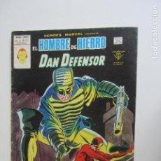 Cómics: HEROES MARVEL V.2 Nº 55 HOMBRE DE HIERRO Y DAN DEFENSOR MUNDI-COMICS VÉRTICE ARX151 LV. Lote 293970273