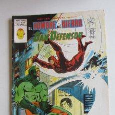 Cómics: HEROES MARVEL V.2 Nº 54 HOMBRE DE HIERRO Y DAN DEFENSOR MUNDI-COMICS VÉRTICE ARX151 LV. Lote 293970343