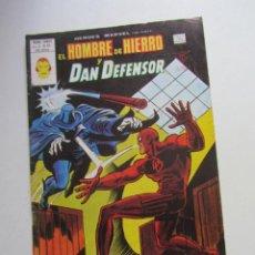 Cómics: HEROES MARVEL V.2 Nº 53 HOMBRE DE HIERRO Y DAN DEFENSOR MUNDI-COMICS VÉRTICE ARX151 LV. Lote 293970383