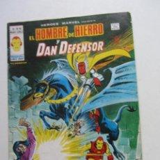 Cómics: HEROES MARVEL V.2 Nº 52 HOMBRE DE HIERRO Y DAN DEFENSOR MUNDI-COMICS VÉRTICE ARX151 LV. Lote 294062093