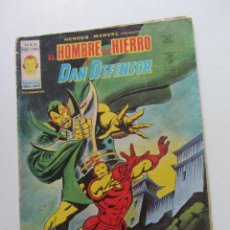 Cómics: HEROES MARVEL V.2 Nº 44 EL HOMBRE DE HIERRO Y DAN DEFENSOR. MUNDI-COMICS VÉRTICE ARX151 LV. Lote 294075663
