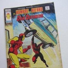 Cómics: HEROES MARVEL V.2 Nº 40 HOMBRE DE HIERRO Y DAN DEFENSOR MUNDI-COMICS VÉRTICE ARX151 LV. Lote 294079308