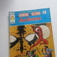 Cómics: HEROES MARVEL V.2 Nº 37 HOMBRE DE HIERRO Y DAN DEFENSOR MUNDI-COMICS VÉRTICE ARX151 LV. Lote 294080508