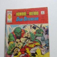 Cómics: HEROES MARVEL V.2 Nº 34 HOMBRE DE HIERRO Y DAN DEFENSOR MUNDI-COMICS VÉRTICE ARX151 LV. Lote 294084653