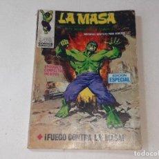 Cómics: VERTICE - EDICIONES INTERNACIONALES - LA MASA - Nº 20 V. 1 FUEGO CONTRA LA MASA AÑO 1968 TACO. Lote 294171273