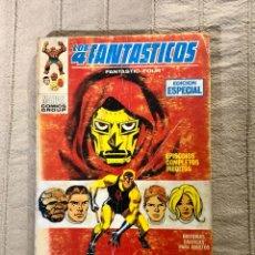 Cómics: LOS 4 FANTASTICOS, NUMERO 20, EDICION ESPECIAL, AÑO 1971, ( VERTICE). Lote 294503508