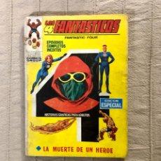 Cómics: LOS 4 FANTASTICOS, NUMERO 17, EDICION ESPECIAL, AÑO 1972, ( VERTICE). Lote 294503978