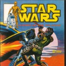 Cómics: STAR WARS LA GUERRA DE LAS GALAXIAS LINEA SURCO VÉRTICE MARVEL NÚMERO 6. Lote 294811863