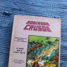 Cómics: MUNDI COMICS CLASICOS Nº 7 : ROBINSON CRUSOE - VERTICE. Lote 295365103