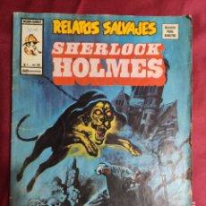 Fumetti: RELATOS SALVAJES. VOL 1. Nº 35. SHERLOCK HOLMES. VÉRTICE.. Lote 295370668
