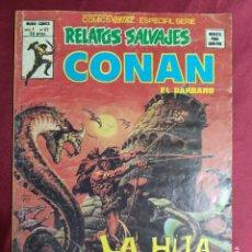 Cómics: RELATOS SALVAJES. VOL.1 Nº 67. CONAN EL BARBARO. VÉRTICE.. Lote 295371683