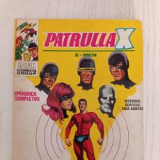 Cómics: PATRULLA X (X-MEN) - Nº 4 - UNUS EL INTOCABLE - ED. VERTICE - 1969 - TACO VOL. 1. Lote 295395293