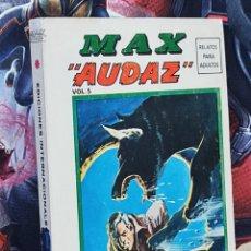 Cómics: CASI EXCELENTE ESTADO MAX AUDAZ 5 EDICIONES INTERNACIONALES ESPECIAL TACO COMICS VERTICE. Lote 295400443