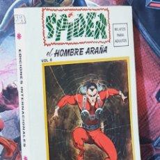 Cómics: DE KIOSCO SPIDER 6 EDICIONES INTERNACIONALES ESPECIAL TACO COMICS VERTICE. Lote 295402363