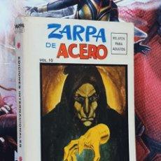 Cómics: MUY BUEN ESTADO ZARPA DE ACERO 10 EDICIONES INTERNACIONALES ESPECIAL TACO COMICS VERTICE. Lote 295408198