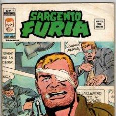 Cómics: SARGENTO FURIA V2 Nº 18 (VERTICE 1973). Lote 295449798
