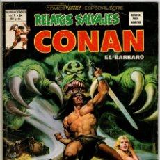 Cómics: RELATOS SALVAJES CONAN V1 Nº 84 (VERTICE 1980) ULTIMO DE LA COLECCION.. Lote 295451178